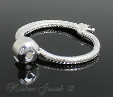 STERLING SILVER FILLED CHARM EUROPEAN BEAD MENS WOMENS BRACELET ( 925 STAMPED )