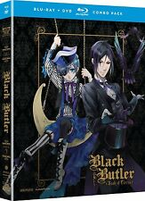 Black Butler Book Of Circus . The Complete Season 3 . Anime . 2 DVD + 2 Blu-ray