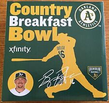 2015 Oakland A's BILLY BUTLER Country Breakfast Bowl SGA, STADIUM GIVEAWAY ~NEW