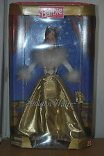 GOLDEN WALTZ BARBIE DOLL, SPECIAL EDITION, MATTEL # 22976, YEAR 1998, NRFB