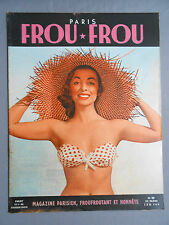 ►FROU-FROU PARIS N°24/1955- PIN-UP SEXY-MARA CORDAY-JACKIE WALKER-LILIANE PIQUET