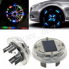 4 Mode 12 LED RGB Car Auto Solar Energy Flash Wheel Tire Light Lamp Decoration