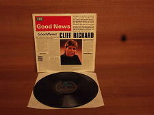 Cliff Richard : Good News : Vinyl Album : Columbia : SX 6167