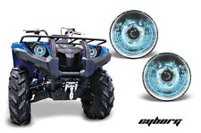 AMR Racing Yamaha Grizzly 700/550 Headlight Eyes ATV Light Graphics Parts CYBG U