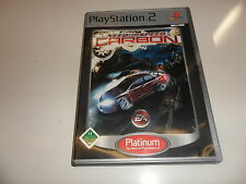PlayStation 2  PS 2  Need for Speed: Carbon [Platinum]