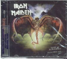 IRON MAIDEN LIVE AT DONINGTON SEALED 2 CD SET NEW