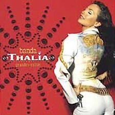 Con Banda Grandes Exitos Thalia CD Ships Fast Brand New Fact Sealed