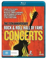 Rock And Roll Hall Of Fame Concerts (Blu-ray, 2011, 2-Disc Set)