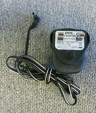 Genuine DVE DVR-0930ACUK-3512 AC Power Adapter 30W 9V 300MA UK Plug Black