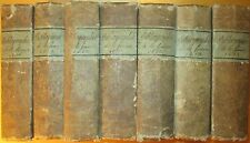 Bibliographie de la France 1818 - 1824 7 vols Journal General de L'Imprimiere...