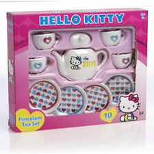 Tea Set - Porcelain Hello Kitty 10 Piece Set