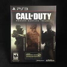 Call of Duty: Modern Warfare Trilogy (Sony Playstation 3, 2016) BRAND NEW