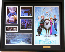 New Frozen Limited Edition Memorabilia Framed