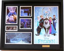 New Frozen Limited Edition Memorabilia Framed