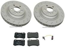 NEW Mercedes W220 W215 CL55 AMG S55 AMG Rear Complete Brake KIT Pads & Rotors