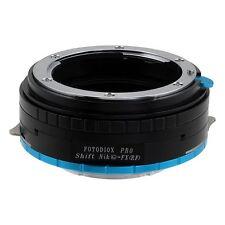 Fotodiox objetivamente adaptador pro Shift Nikon G lente para Fujifilm x cámara