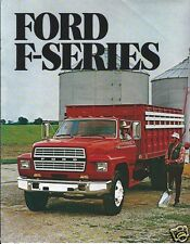 Truck Brochure - Ford - F-series - F-600 F-700 F-800 - c1982 - No Footer (TB369)