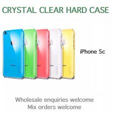 Iphone 5c Crystal Clear Hard Case Wholesale Job Lot Bulk x 25
