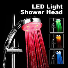 Colorful Head Home Bathroom 7 Colors Changing LED Shower Water Faucet Glow Light