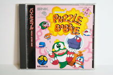Puzzle Bobble NEO GEO CD SNK NEOGEO Japan Import US Seller SHIP FAST