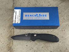 Benchmade Tanto Mini Griptilian Knife 557BK  Plain Edge Black Blade