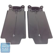 1964-64 GTO / LeMans Rear Bumper OE Metal Splash Shields - Pair