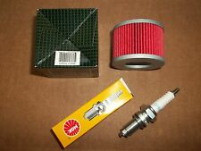 Tune up Kit Honda TRX400EX Sportrax TRX 400 EX Spark Plug + Oil Filter 1999-2014
