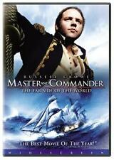 Master & Commander: Far Side of World  DVD Russell Crowe, Paul Bettany, Billy Bo