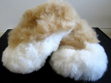 New Alpaca Fur SLIPPERS Kid Size US 12.5 from Peru
