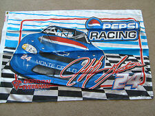 "NASCAR JEFF GORDON # 24 PEPSI RACING MONTE CARLO 28""X43"" FLAG WITH GROMMETS"