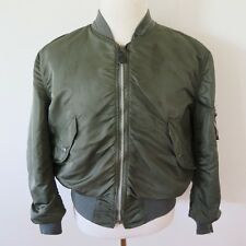 VINTAGE ORIGINAL JACKET FLYING LIGHT L-2B L2B ALPHA INDUSTRIES USAF 1972 LARGE