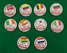 World Cup Soccer 1994 Collectable Caps Pogs