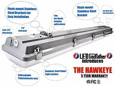 LED Utility Shop Light 4' Ft 44-Watts Instant-On 5,380 Lumens NEW Garage Durable