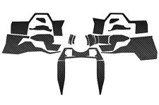 Polaris RZR 1000 XP Carbon Fiber Dash Kit UTV RZR1000 Decal Accessories Matte