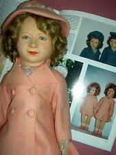 "RARE Antique CHAD VALLEY Royal Family ""Princess Elizabeth"" tgd. cloth doll 1938"