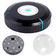 Black Microfiber Mop Dust Cleaning Household Robotic Smart Auto Robot Cleaner