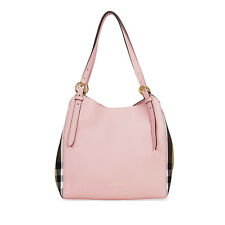 Burberry The Small Canter Leather Tote - Pale Orchid