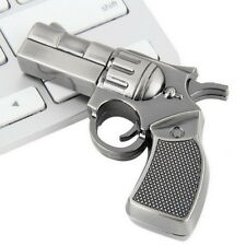 Revolver Gun Model USB2.0 Flash Pen Drive Memory U Stick Thumb Storage 4GB UL