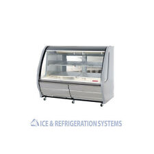 "TORREY 57"" WHITE REFRIGERATED DELI BAKERY CASE COOLER MERCHANDISER TEM-150"