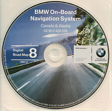 1997 to 2002 BMW 3 5 7 Series X5 M3 M5 & Mini Navigation CD Map CANADA 07 Update