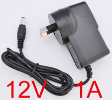 AC 100-240V Converter Adapter DC 12V 1A 12W Power Supply 1000mA AU 5.5mm x 2.1mm