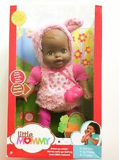 Fisher Price Little Mommy doll My First Baby BPA free Fluffy Bunny Black Baby