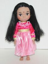 """DISNEY STORE Animator's Collection It's a Small World 16"""" Singing Doll - India"""