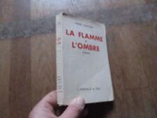 PIERRE VILLETARD la flamme et l ombre   ferenczi 1946