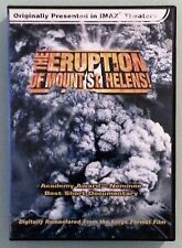 THE ERUPTION OF MOUNT ST HELENS !    DVD st.