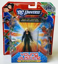 DC Universe Young Justice Black Canary Action Figure with Hall of Justice Piece