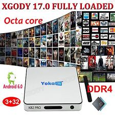 XGODY NEW DDR4 3+32GB S912 Android 6.0 TV BOX Octa Core 4K HD Movies 17.0 Add-on
