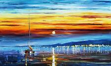 "SUNRISE 2 — Oil Painting On Canvas By Leonid Afremov Size: 40""x24"""
