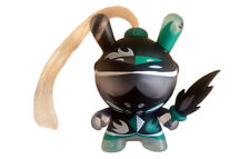 *Chase* Clear & Teal Knight Dunny by Patricio Oliver - Art of War series 2014