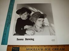 Rare Original VTG Ricky Gervais Bill Macrae British Seona Dancing London Photo